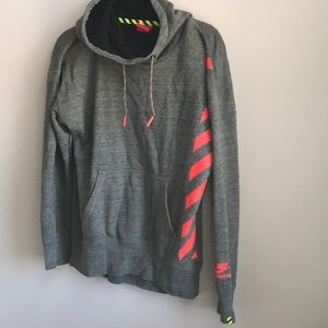 Oversized nike sweatshirt with cowl neck